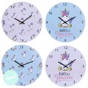RELOJ PARED UNICORNIO